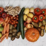 Obst und Gemüse fürs Büro